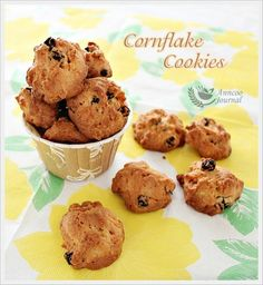 My friends and family love my Cornflake Cookies and it is their all time favourite. I used to make these fragrant and crispy cookies for festive seasons or at someone's request.  So happens that I still have some cornflakes left in my pantry and without second thought, I made these cookies again for 'Little …