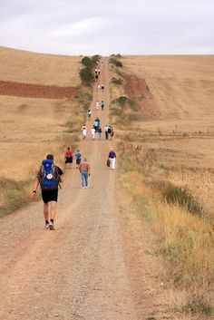 Each of us will finally reach the destination... Just never give up. #camino #santiago #road