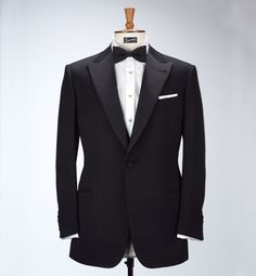 invention of the Tuxedo at Henry Poole- Savile Row Tailor