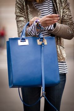 Go True Blue With Accessories!
