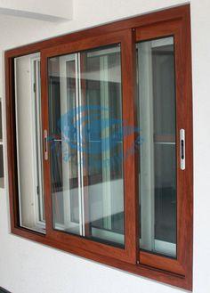 Wooden Window Design, Door And Window Design, Wooden Windows, Sliding Windows, Door Design, Windows And Doors, Mosquito Window Screen, Window Screens, Slider Window