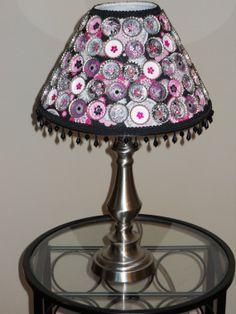 Bottle Caps - Lamp