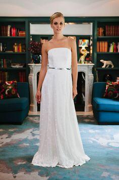 schönes Brautkleid - schlicht, besonders und wirklich wandelbar ...