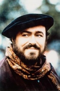 Luciano Pavarotti, one of the greatest tenors of all time.