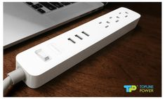 TP® Power Strip Surge Protector with USB Ports flat plug Power Strip, Dorm, Plugs, Charger, Gaming, Usb, Tech, Electronics, Flat