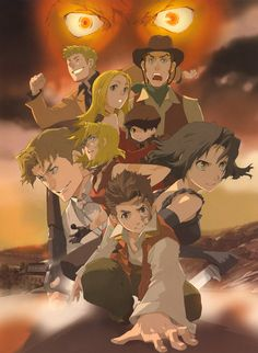 Ah, Baccano! A crazy caper and one of the most audacious pieces of narrative storytelling, threading multiple plots, themes and characters into a series which shouldn't work at all, and yet does and is hugely fulfilling. Brilliant.