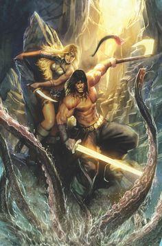 26 Conan the Barbarian Artworks