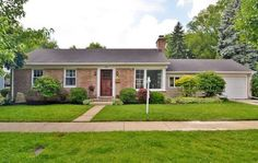 1801 Oak Avenue, Northbrook, IL 60062 — Charming Ranch with UNBEATABLE location! This 3 Bedroom home is located only blocks from town, train, the Village Green, Meadowbrook Elementary and Northbrook Junior High. Hardwood Floors throughout first floor. Newer windows in bedrooms. Newer Kitchen Cabinets. Full Finished Basement with Rec room and extra full bathroom. Bonus family room and surprisingly spacious garage - perfect for storage! Great Home and Neighborhood!