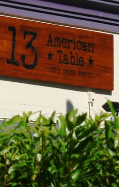 13 American Table - Is a family owned Boca Raton restaurant that serves traditional American cuisine with a unique twist. Terrific place to enjoy a friendly served meal. #13americantable   https://www.facebook.com/13AmericanTable
