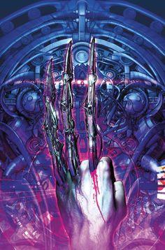 Dibujo de Fabio Listrani para la portada de Cataclysm Ultimates Comics X-Men #2, incluido en Ultimate Marvel Especial 4.  http://www.paninicomics.es/web/guest/titulo_detail?viewItem=728872