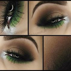"""""""We are so wearing green on our eyes for St.Patrick's Day  Try a neutral/smokey eye with a pop of green like the lovely @miriama.h who used her Take…"""""""
