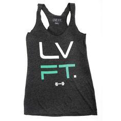 LVFT Tank - Charcoal