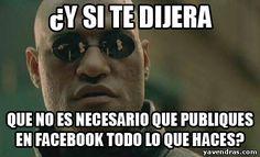 Meme de Yavendras.com 'OBSESIÓN CON FACEBOOK'