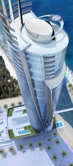 Regent Emirates Pearl Tower, Abu Dhabi by Soehne & Partner; Dennis Lems Architects Associates :: 52 floors, height 255m :: under construction