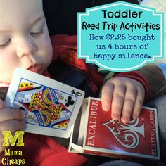 Toddler Road Trip Activities: How $2.25 Bought Us 4 Hours of Happy Silence