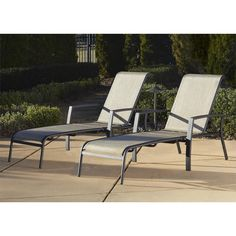 Cosco Outdoor Chaise Lounge Chair