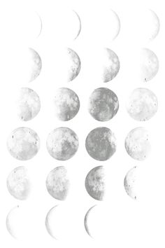 transparent moon phase #tumblr