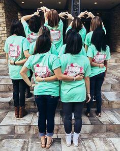 Alpha Chi Omega | AXO | Executive Board T-Shirt Design | South by Sea | Greek Tee Shirts | Greek Tank Tops | Custom Apparel Design | Custom Greek Apparel | Sorority Tee Shirts | Sorority Tanks | Sorority Shirt Designs