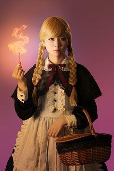 Angelic Pretty costume for the movie 燐寸少女 マッチショウジョ