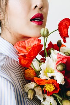Rote Lippen lassen dich nobel aussehen