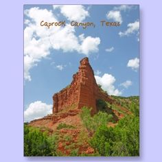 Caprock Canyon, Texas