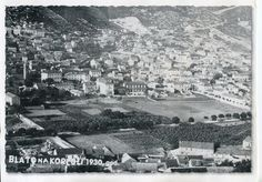 History of Blato - Photo of Blato from 1930 Paris Skyline, City Photo, Island, Vacation, History, Travel, Block Island, Trips, Islands