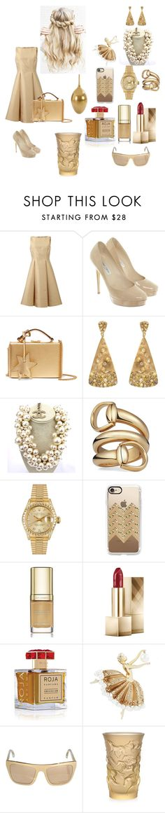"""""""Untitled #102"""" by eliza-heffly ❤ liked on Polyvore featuring Michael Kors, Jimmy Choo, Mark Cross, Bavna, Chanel, Gucci, Rolex, Casetify, Dolce&Gabbana and Burberry"""