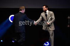 Henry Cavill presents Christopher Nolan...
