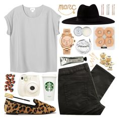 """""""Just tell me what to do I'll fall right into you"""" by steffywhoelse ❤ liked on Polyvore featuring Monki, Great Plains, Filù Hats, Madewell, Michael Kors, L:A Bruket, Polaroid, Yves Saint Laurent, Jack Wills and Urbanears"""