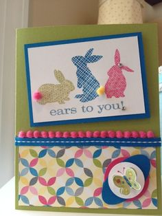 "Ears to Spring. I like the ""color"" bunt tales"