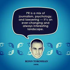 Question regarding PR services?