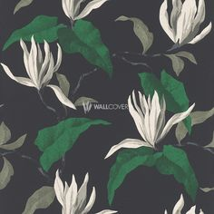 Sophie Charlotte – Rasch Non-wovenWallpaper No. 440447 in green, black, anthracite now at wallcover.com! ✔ Fast and secure Delivery ✔ Free Shipping for an Order Value over 200€