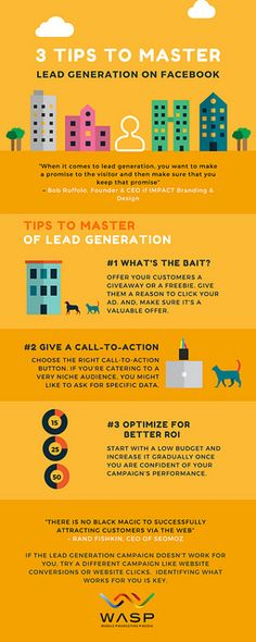 Lead Generation has become one of the hottest social media advertising tool to pick up leads on Facebook. However, if done wrong, you could end up with a lot of spammed data. Here're 3 tips for you to incorporate in your next Lead Generation Campaign.