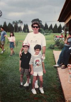 Ayrton Senna e Sobrinhos  .#jorgenca