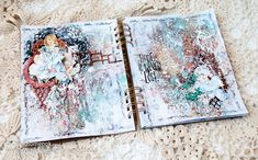 LikeArtStudio by Ola Khomenok: Art Journal spread