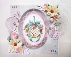 Janes Lovely Cards - exclusive easter egg stamp from www.magnoliastamps.us