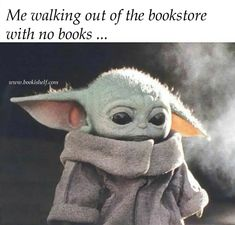 Should have studied more and spent less time looking at baby yoda memes. I Love Books, Books To Read, My Books, Funny Relatable Memes, Funny Jokes, Hilarious, Nerd Problems, After Life, Book Memes