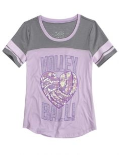 Volleyball Sports Tee at Justice