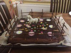 Kindergeburtstag Kuchen Pferde Party