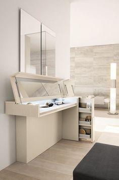 Mobile toilette in frassino Collezione Prestige by SMA Mobili