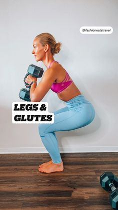 Fitness Workouts, Gym Workout Videos, Butt Workout, At Home Workouts, Leg Workouts, Funny Fitness, Fitness Quotes, Yoga Fitness, Glutes