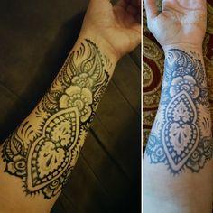 It is only the beginning ! Jagua gel.#habeebeehenna #jagua #tattoo