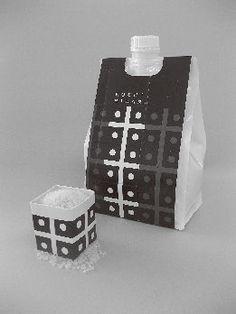 『お米用スパウト付BOXパウチ』