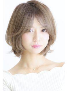 ハニーヘア☆大人可愛いひし形ショートボブ★マーメイドアッシュ - 24時間いつでもWEB予約OK!ヘアスタイル10万点以上掲載!お気に入りの髪型、人気のヘアスタイルを探すならKirei Style[キレイスタイル]で。
