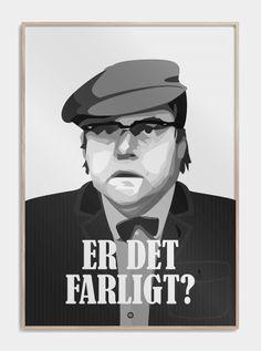 """Olsen Banden Poster """"ist es gefährlich"""" – Benny www."""