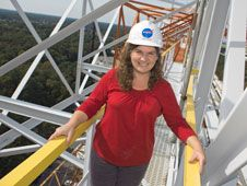 Meet Robin Hardy, Test Engineer at NASA Langley's Landing Impact and Research Facility. She's working on the next human spacecraft - Orion!