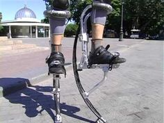 Power of Jumping Stilts (Tube Mix) - YouTube Jumping Stilts, Metal Art Sculpture, Night Vibes, Cool Inventions, Photo Reference, Gadgets, World, Sports, Robots