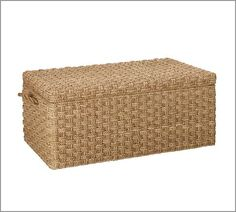 Me. Me. Me. Holbrook Seagrass Trunk | Pottery Barn