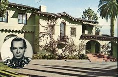 Milton Berle's home in Beverly Hills.