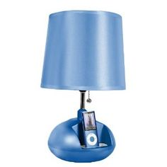 iHome iHL64 Speaker System and Lamp for iPod (Blue) (Electronics)